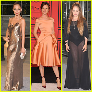 Nicole Richie & Juliette Lewis - CFDA Fashion Awards 2013 Red Carpet