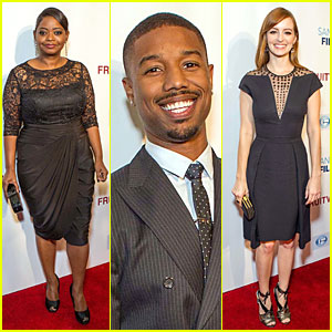 Octavia Spencer & Michael B. Jordan: 'Fruitvale Station' San Francisco Screening!