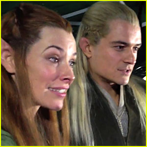 Orlando Bloom Watches Fan Reaction Video to 'Hobbit' Trailer
