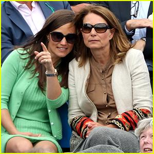 Pippa Middleton: Aegon Championships with Mom Carole!