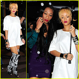 Rihanna Rains On Cuckoo Nightclub with Melissa Forde!