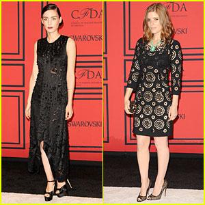 Rooney & Kate Mara - CFDA Fashion Awards 2013 Red Carpet