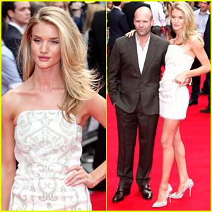 Rosie Huntington-Whiteley & Jason Statham: 'Hummingbird' Premiere Pair!
