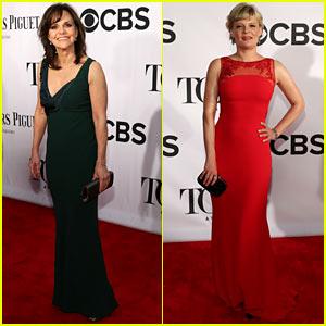 Sally Field & Martha Plimpton - Tony Awards 2013 Red Carpet