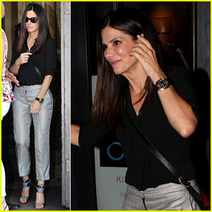 Sandra Bullock: Night Out in Berlin!
