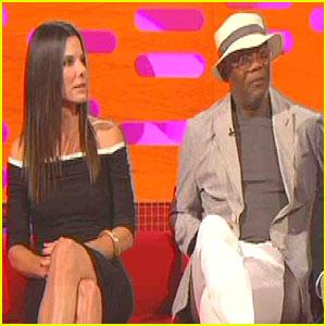 Sandra Bullock & Samuel L. Jackson: Sex Scenes on 'Graham Norton'!