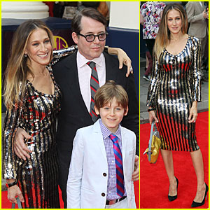 Sarah Jessica Parker & Matthew Broderick: 'Charlie and the Chocolate Factory' Press Night!