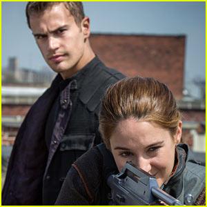 Shailene Woodley & Theo James: New 'Divergent' Stills!