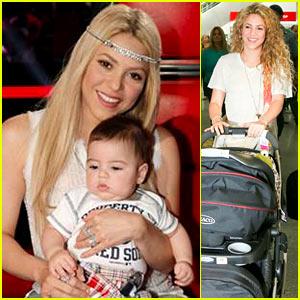 Shakira & Baby Milan Are 'Ready' for 'Voice' Season Six!