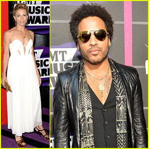 Sheryl Crow & Lenny Kravitz - CMT Music Awards 2013 Red Carpet