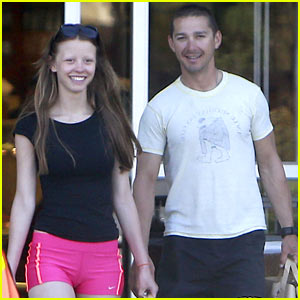 Shia LaBeouf & Mia Goth Stock Up for Summer Weekend!