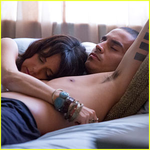Shirtless Manny Montana: 'Graceland' Stills with Mia Kirshner (Exclusive)