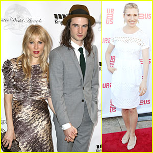 Sienna Miller: Up2Us Gala Without Tom Sturridge