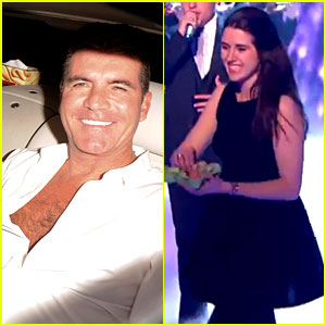 Simon Cowell Egged During 'Britain's Got Talent' Finale (Video)