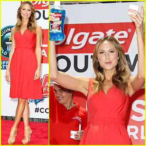 Stacy Keibler: Wish for a Swish Benefit!