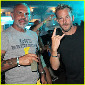 Stephen Dorff & Christian Audigier: Departures Buddies!