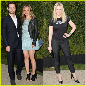 Tobey Maguire & Jennifer Meyer: Chanel NRDC Dinner!