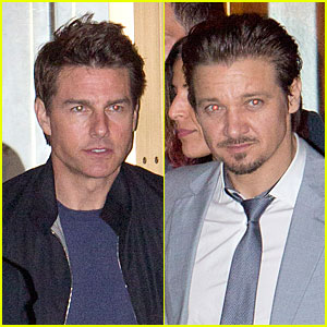 Tom Cruise & Jeremy Renner: Sunset Towers Hotel Dinner Duo!