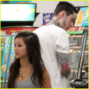 Brenda Song & Trace Cyrus Stop for Snacks at 7-Eleven