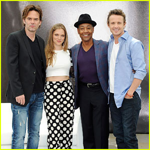 Tracy Spiridakos & David Lyons: 'Revolution' in Monte Carlo!
