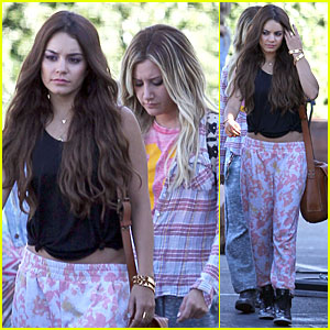 Vanessa hudgens and ashley