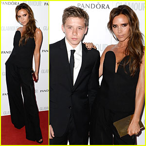 Victoria Beckham & Brooklyn