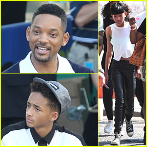 Will & Jaden Smith: 'After Earth' Promotion on 'Good Morning America'!