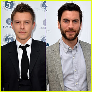 Xavier Samuel & Wes Bentley: Heath Ledger Scholarship Event
