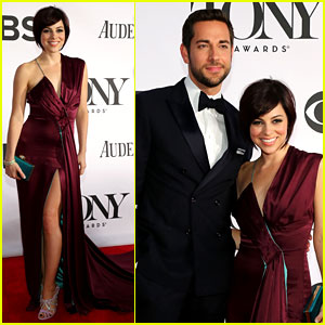 Zachary Levi & Krysta Rodriguez - Tony Awards 2013 Red Carpet