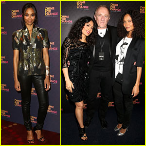 Zoe Saldana & Thandie Newton: Chime for Change Concert!