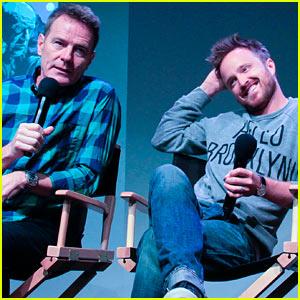 Aaron Paul & Bryan Cranston: 'Breaking Bad' Apple Store Promo!