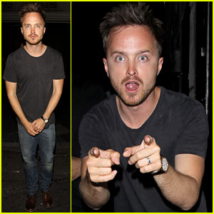 Aaron Paul: Ride to 'Breaking Bad' Premiere with Stars in an RV!