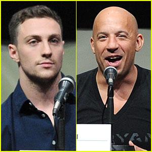 Aaron Taylor-Johnson & Vin Diesel: 'Kick-Ass 2' & 'Riddick' at Comic-Con!
