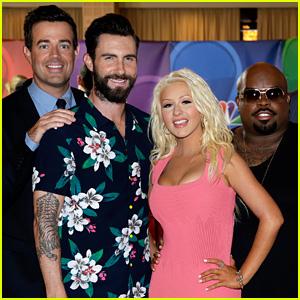Adam Levine & Cee Lo Green: NBC's Summer TCA Tour Event!