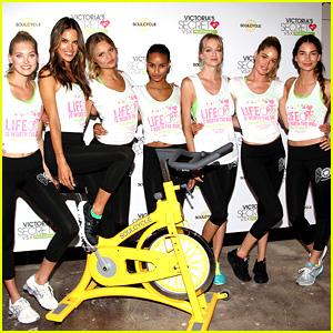 Alessandra Ambrosio & Lily Aldridge: Victoria's Secret Supermodel Cycle!