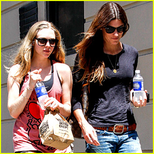 Amanda Seyfried & Jennifer Carpenter Hang in the Big Apple