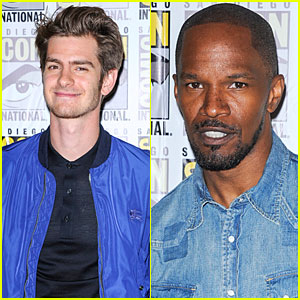 Andrew Garfield & Jamie Foxx: 'Amazing Spider-Man 2' at Comic-Con!