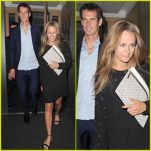 Andy Murray & Kim Sears: Nobu Dinner Date After Wimbledon Photo Call!