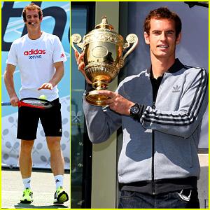 Andy Murray: Wimbledon Winners Photo Call!