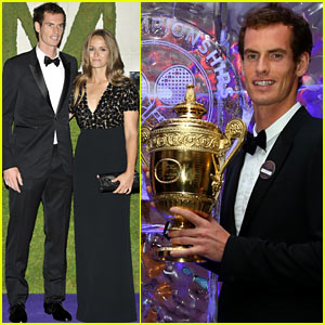 Andy Murray: Wimbledon Winner's Ball with Kim Sears!