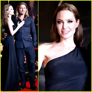 Angelina Jolie & Brad Pitt: 'World War Z' Tokyo Premiere!