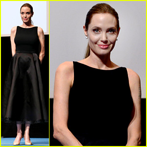 Angelina Jolie: 'In the Land of Blood & Honey' Japan Screening!