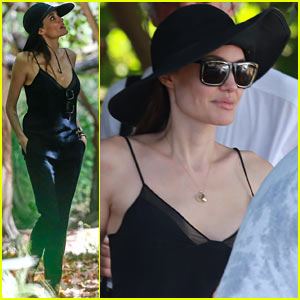 Angelina Jolie Scouts 'Unbroken' Filming Locations in Hawaii!