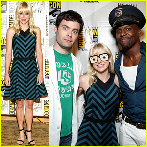 Anna Faris: 'Cloudy with a Chance...' Comic-Con Panel!