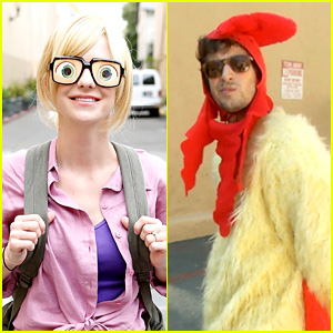 Anna Faris & 'Cloudy with a Chance of Meatballs 2' Cast Dress as Characters (Exclusive Photos!)