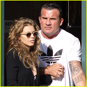 AnnaLynne McCord & Dominic Purcell Hold Hands at the Dentist!