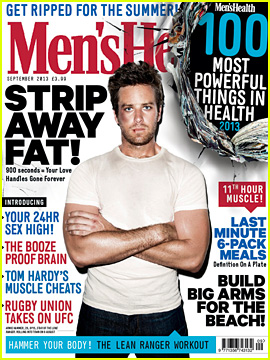 Armie Hammer Covers 'Men's Health UK' September 2013!