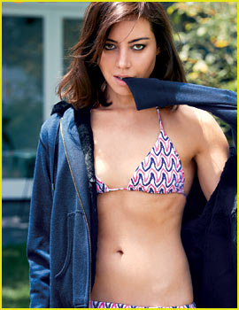 Aubrey Plaza: Bikini Babe for 'GQ' Feature!
