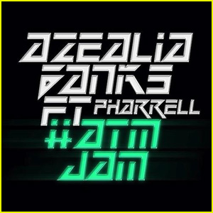 Azealia Banks: 'ATM Jam' feat. Pharrell - First Listen!
