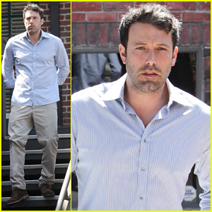 Ben Affleck: Business Meeting in Pasadena!